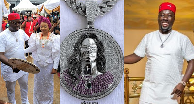 Obi Cubana Buys A Diamond Necklace Worth Over N40m To Honour His Late Mother [Video]