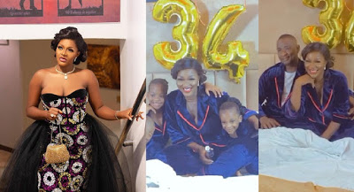 Chacha Eke Faani & Husband Caught In A Loved-up Video As She Celebrates Her Birthday [Video]