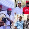 """""""I'm The Last Of The Males"""" – Obi Cubana Shows Off His Elder Brothers (Photos)"""