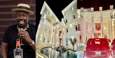 ECHOKE!!!! See Obi Cubana Mouth-watering Mansion that causes stir Online in Abuja, Worth Billions of Naira [Photos]