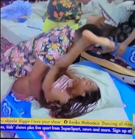 """#BBNaija 2021: """"General Pere Abacha in action"""" – Viewers react to video of Pere doing Jackie B 'dirty' (VIDEO)"""