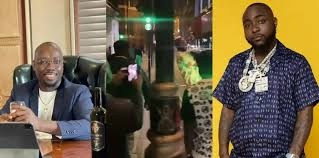 Obi Cubana And Other Celebrities React As Davido Acts Like A Conductor In London (Video)