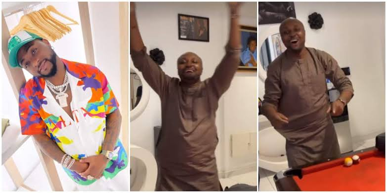 Isreal DMW Screams Out His Lungs in Davido's Presence As Singer Reportedly Lifts His Suspension (Video)