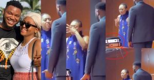 """""""Why did you come close to me if you knew you were not going to marry me"""" – Here's what we know about controversial video of Regina Daniels confronting ex-boyfriend, Somadina Adinma (Video)"""