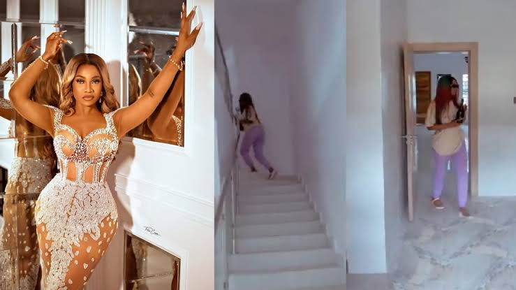 Reality star, Tacha acquires new house (Video)