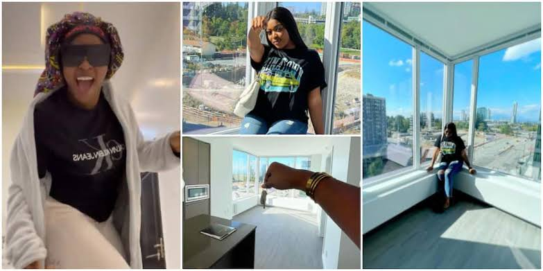 Instagram comedian, Caramel Plug acquires a luxury house in Canada (Photos + Video)