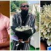 #BBNaija: Emmanuel's Canadian Fans Gift Him A Bouquet Of Dollars & Other Amazing Gifts (VIDEO/Photos)