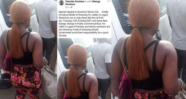 Man dragged to the mud after snapping a lady and calling on the government to introduce mode of dressing for women